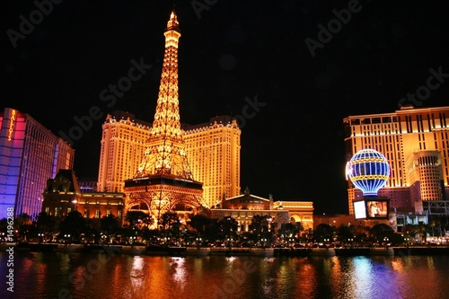 Foto op Canvas Las Vegas evening in las vegas