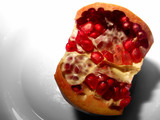 pomegranate and seeds poster