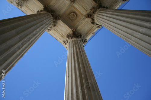 marble columns at supreme court - 1498265