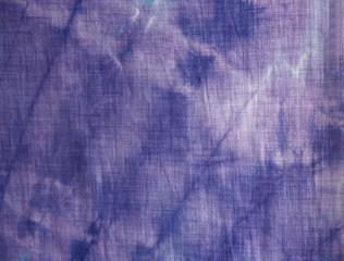 purple tie-dye closeup cotton pattern