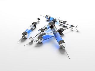 injection, syringe, medicine