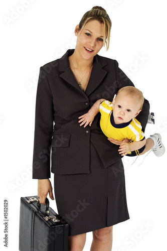 poster of working mom