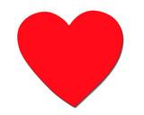 single heart poster