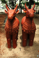 works in terra cotta