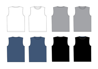t-shirt without sleeve