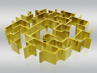 the golden maze of business.
