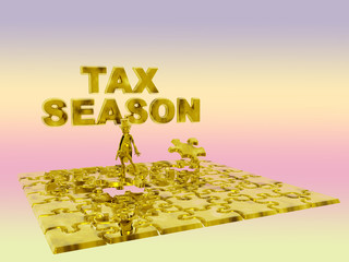 the puzzling tax season.