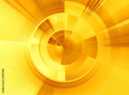 sunny abstract