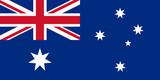 australia flag australien fahne poster