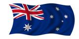 Fototapety australia flag australien fahne