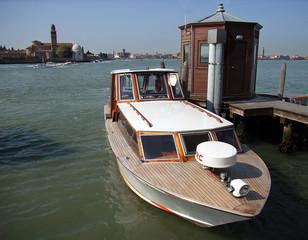 boat near venice