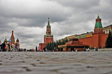 kremlin from the ground level
