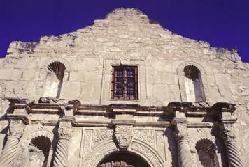 the alamo, facade-- san antonio, texas