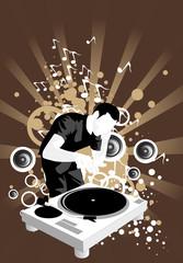 spinning beats