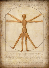 vitruvian man (a modern rendition)