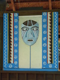 an indian mask poster