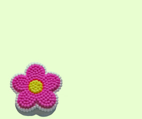 candy flower paper