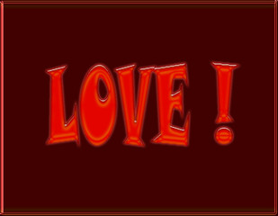 de l'amour !