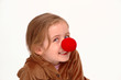 silly clown girl