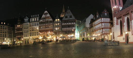 night in frankfurt