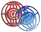 e-mail icon poster
