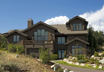 mountain cabin home