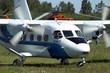skydiver's plane