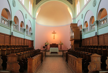 mt. angel abbey interior 3