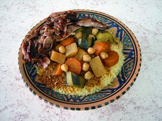 plat de couscous