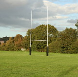 rugby post poster