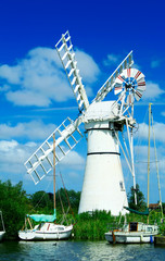 windmill at riverside