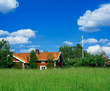 swedish country-side view