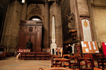 france, paris: saint sulpice church