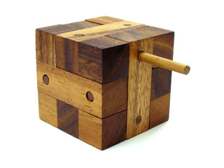 wooden cube puzzle 2