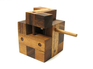 wooden cube puzzle 3