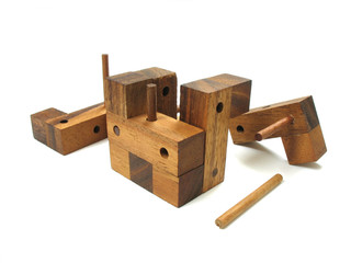 wooden cube puzzle 5