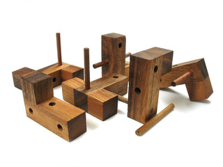 wooden cube puzzle 7