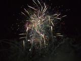 firework burst poster