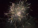 fireworks finale cluster poster