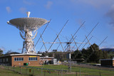 radio telescopes, tidbinbilla space tracking station poster