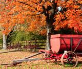 autumn farm display poster