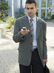 der junge businessman