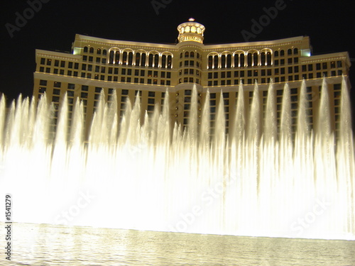 Fotobehang Fontaine fountains at bellagio, las vegas