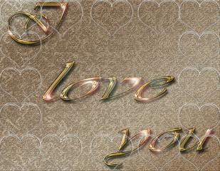 déclarer son amour