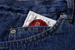 objects - condom in pocket