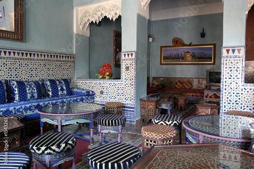 salon marocain poster