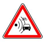 danger radar poster