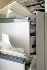 stuffed file cabinet