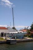 damaged storm boat poster