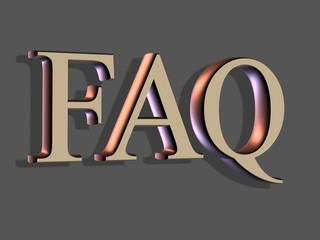 3d lettering: faq frequently asked questions